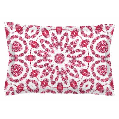 Alison Coxon Ruby Mandala Digital Sham Size: King