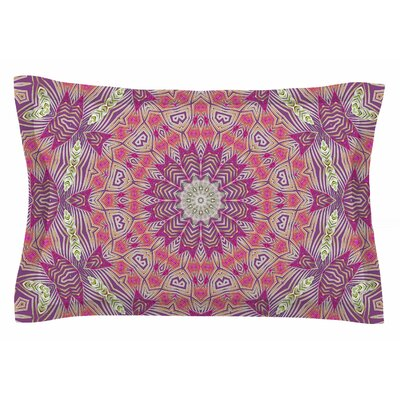Alison Coxon Gypsy Medallion Purple Digital Sham Size: Queen