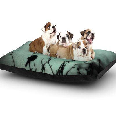 Robin Dickinson 'On Top' Dog Pillow with Fleece Cozy Top Size: Large (50