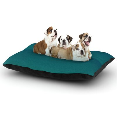 Robin Dickinson When Were Together Dog Pillow with Fleece Cozy Top Size: Small (40 W x 30 D x 8 H)