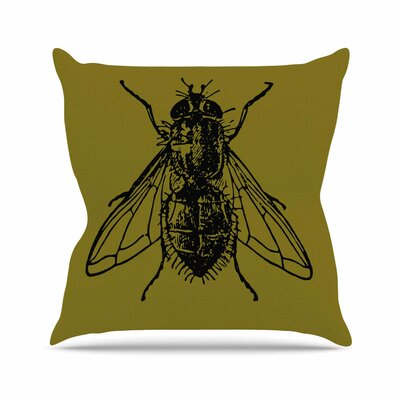 Alias Too Fly Outdoor Throw Pillow Size: 16 H x 16 W x 5 D