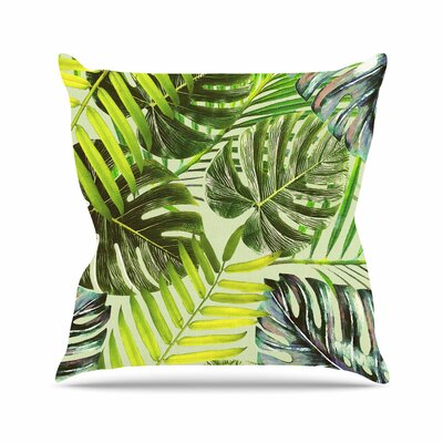 Alison Coxon Jungle Outdoor Throw Pillow Size: 16 H x 16 W x 5 D