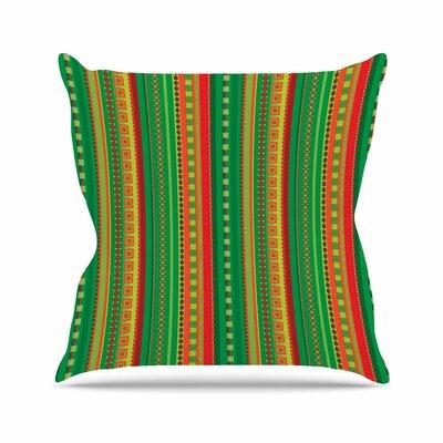 Allison Soupcoff Coastal Outdoor Throw Pillow Size: 18 H x 18 W x 5 D