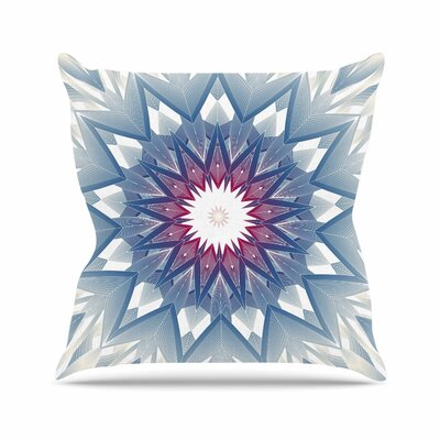 Angelo Cerantola Starburst Digital Outdoor Throw Pillow Size: 18 H x 18 W x 5 D