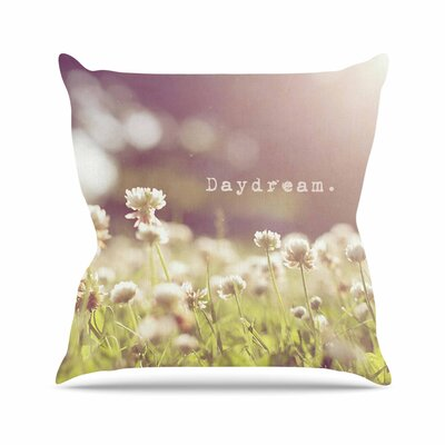 Angie Turner Daydream Floral Outdoor Throw Pillow Size: 16 H x 16 W x 5 D