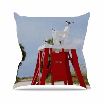 Angie Turner Keep off Outdoor Throw Pillow Size: 16 H x 16 W x 5 D