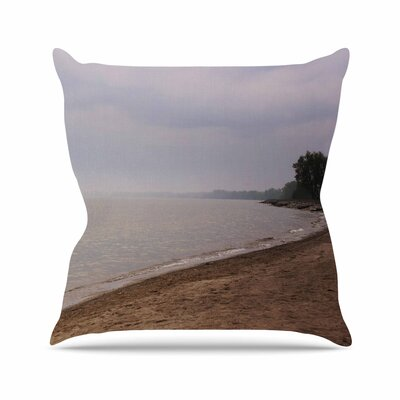 Angie Turner Along the Coast Outdoor Throw Pillow Size: 18 H x 18 W x 5 D