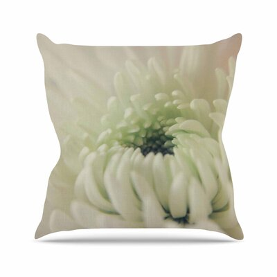 Angie Turner Pure Petals Floral Outdoor Throw Pillow Size: 18 H x 18 W x 5 D