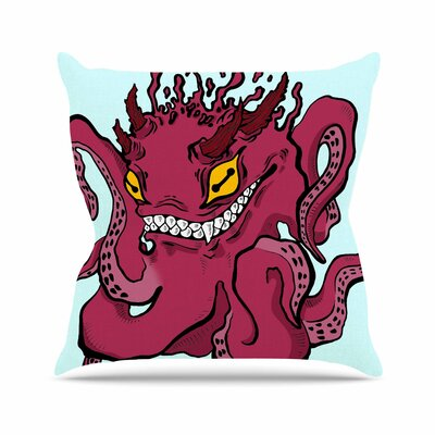 Anya Volk Underwater Outdoor Throw Pillow Size: 18 H x 18 W x 5 D