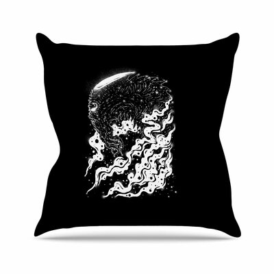 BarmalisiRTB Alien Light Outdoor Throw Pillow Size: 16 H x 16 W x 5 D