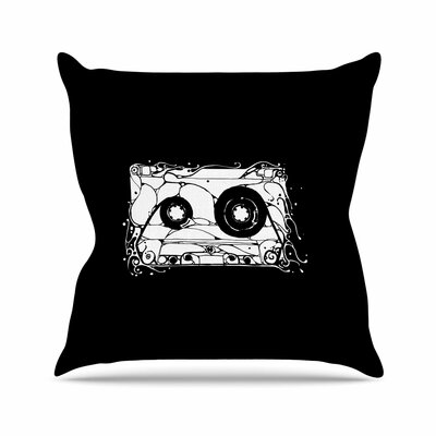 BarmalisiRTB Cassette Outdoor Throw Pillow Size: 16 H x 16 W x 5 D