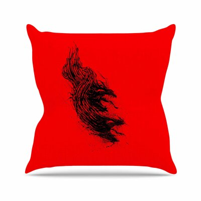 BarmalisiRTB Came From Hell Digital Outdoor Throw Pillow Size: 18 H x 18 W x 5 D