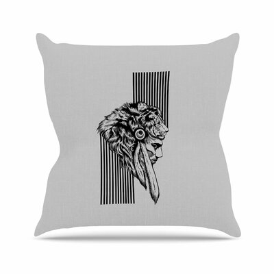 BarmalisiRTB the Chief Outdoor Throw Pillow Size: 16 H x 16 W x 5 D