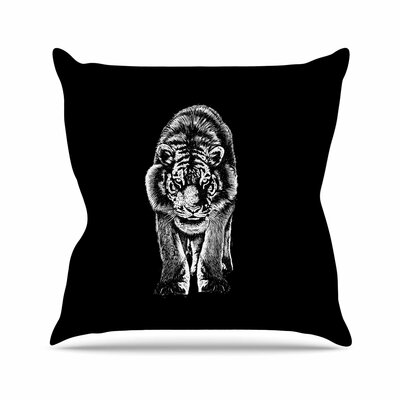 BarmalisiRTB Stare Outdoor Throw Pillow Size: 16 H x 16 W x 5 D