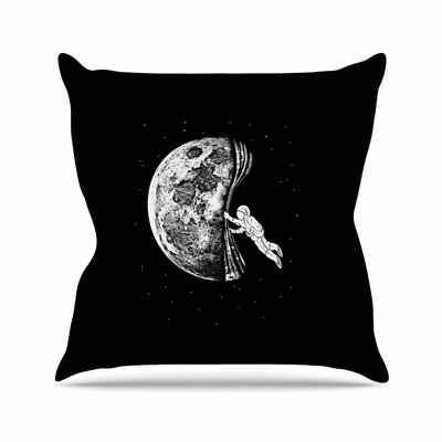 BarmalisiRTB the Night Has Come Outdoor Throw Pillow Size: 16 H x 16 W x 5 D