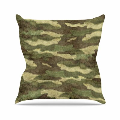 Bruce Stanfield Dirty Camo Outdoor Throw Pillow Size: 18 H x 18 W x 5 D