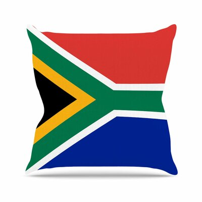 Bruce Stanfield South Africa II Outdoor Throw Pillow Size: 18 H x 18 W x 5 D