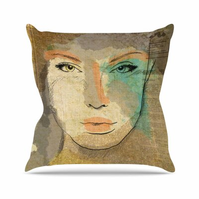 Carina Povarchik Agata People Outdoor Throw Pillow Size: 18 H x 18 W x 5 D