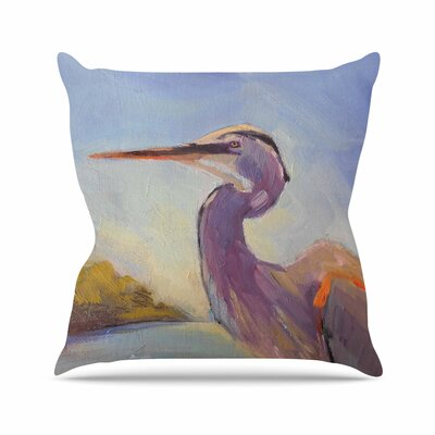 Carol Schiff Tropical Sentry Animals Outdoor Throw Pillow Size: 16 H x 16 W x 5 D
