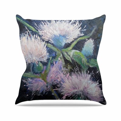 Carol Schiff Thistle Love Outdoor Throw Pillow Size: 16 H x 16 W x 5 D