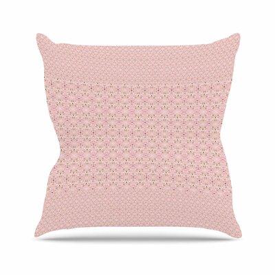 Carolyn Greifeld Modern Shabby Abstract Outdoor Throw Pillow Size: 18 H x 18 W x 5 D