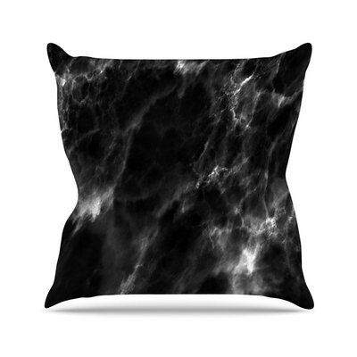 Marble Modern Outdoor Throw Pillow Size: 18 H x 18 W x 5 D