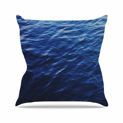 Sea Calm Nature Outdoor Throw Pillow Size: 18 H x 18 W x 5 D