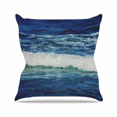 Sink Back Into Coastal Outdoor Throw Pillow Size: 16 H x 16 W x 5 D