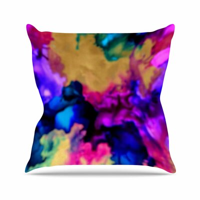 Claire Day Lovely Outdoor Throw Pillow Size: 18 H x 18 W x 5 D