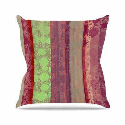 Cvetelina Todorova Magic Carpet Outdoor Throw Pillow Size: 18 H x 18 W x 5 D