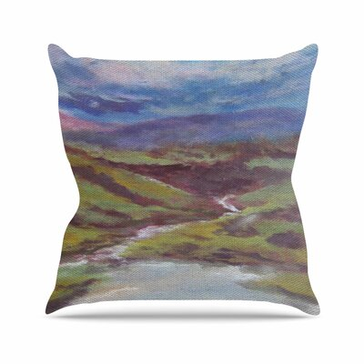 Cyndi Steen Dreaming of Scotland Outdoor Throw Pillow