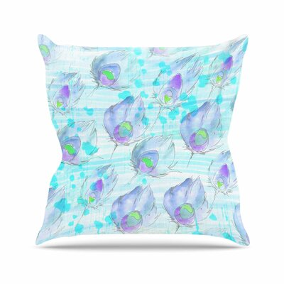 Danii Pollehn Featherdream Illustration Outdoor Throw Pillow Size: 16 H x 16 W x 5 D