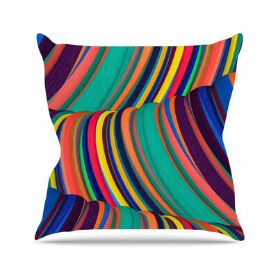 Danny Ivan Mapel Digital Outdoor Throw Pillow Size: 18 H x 18 W x 5 D