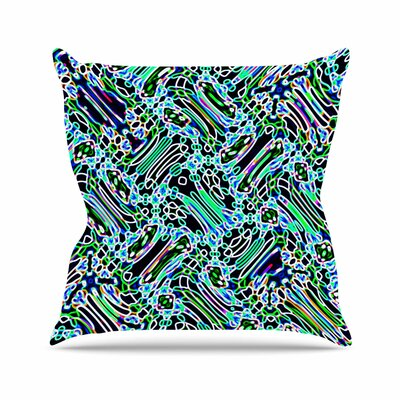 Dawid Roc Camouflage Pattern Mixed Media Outdoor Throw Pillow Size: 16 H x 16 W x 5 D