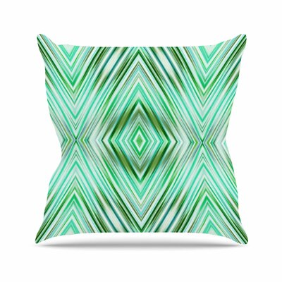Dawid Roc Modern Ethnic Geometric Outdoor Throw Pillow Size: 16 H x 16 W x 5 D