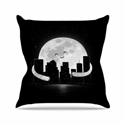 Digital Carbine Goodnight Outdoor Throw Pillow Size: 18 H x 18 W x 5 D