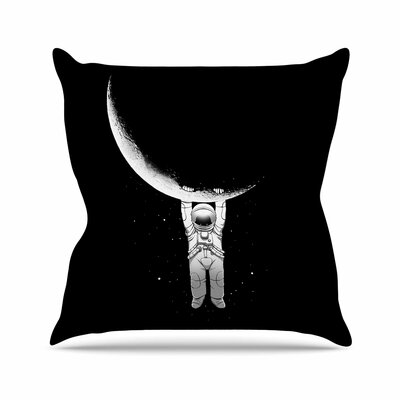 Digital Carbine Help! Outdoor Throw Pillow Size: 16 H x 16 W x 5 D
