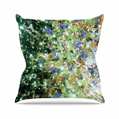 Ebi Emporium Into to the Night Outdoor Throw Pillow Size: 18 H x 18 W x 5 D