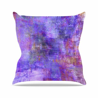 Ebi Emporium Fog Painting Outdoor Throw Pillow Size: 16 H x 16 W x 5 D