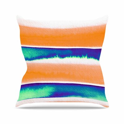 Ebi Emporium Summer Vibes 4 Outdoor Throw Pillow Size: 16 H x 16 W x 5 D