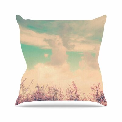Graphic Tabby Spring Daydream Nature Outdoor Throw Pillow Size: 16 H x 16 W x 5 D