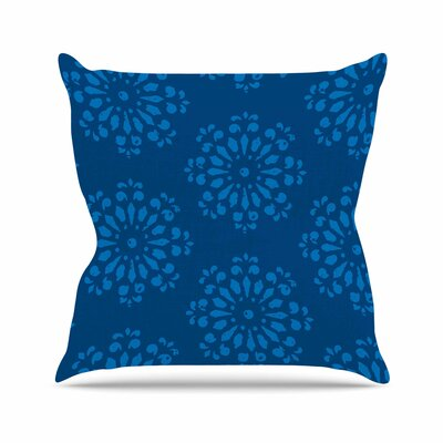 Gukuuki Taylor Damask Outdoor Throw Pillow Size: 16 H x 16 W x 5 D