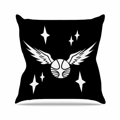 Jackie Rose Snitch Fantasy Outdoor Throw Pillow Size: 18 H x 18 W x 5 D