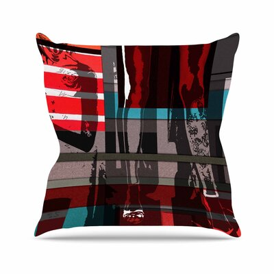 Ivan Joh Temptation Outdoor Throw Pillow Size: 16 H x 16 W x 5 D