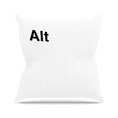 Jackie Rose Alt Outdoor Throw Pillow Size: 18 H x 18 W x 5 D