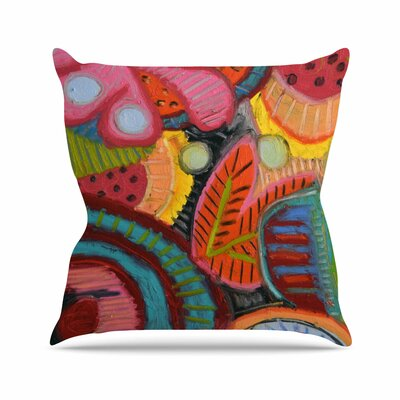 Jeff Ferst Tropic Delight Outdoor Throw Pillow Size: 18 H x 18 W x 5 D