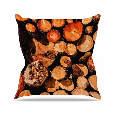 Juan Paolo the Lumber Yard Outdoor Throw Pillow Size: 16 H x 16 W x 5 D