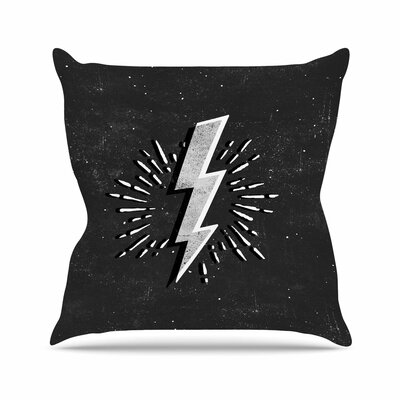 Bolt Outdoor Throw Pillow Size: 18 H x 18 W x 5 D