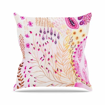 Li Zamperini Delicada Outdoor Throw Pillow Size: 18 H x 18 W x 5 D