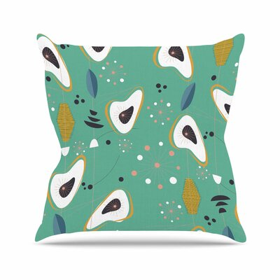 Retro Steaks Outdoor Throw Pillow Size: 16 H x 16 W x 5 D